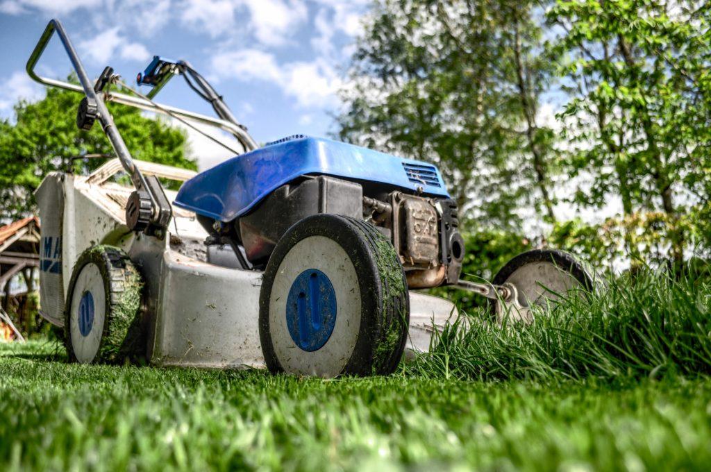 Rasenmäharbeiten